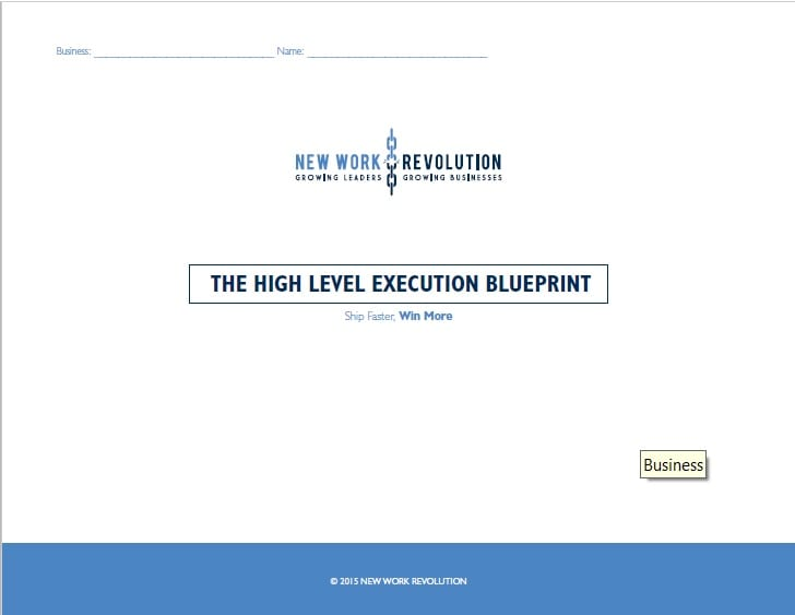 Home new work revolution get the high level execution blueprint now malvernweather Images