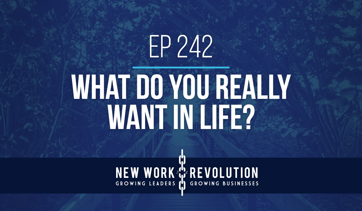 Ep 242- What Do You Really Want in Life?