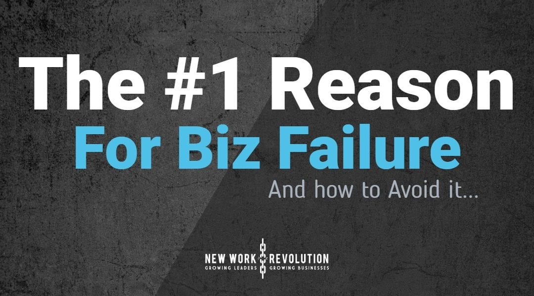 The #1 Reason businesses fail! And how to avoid it