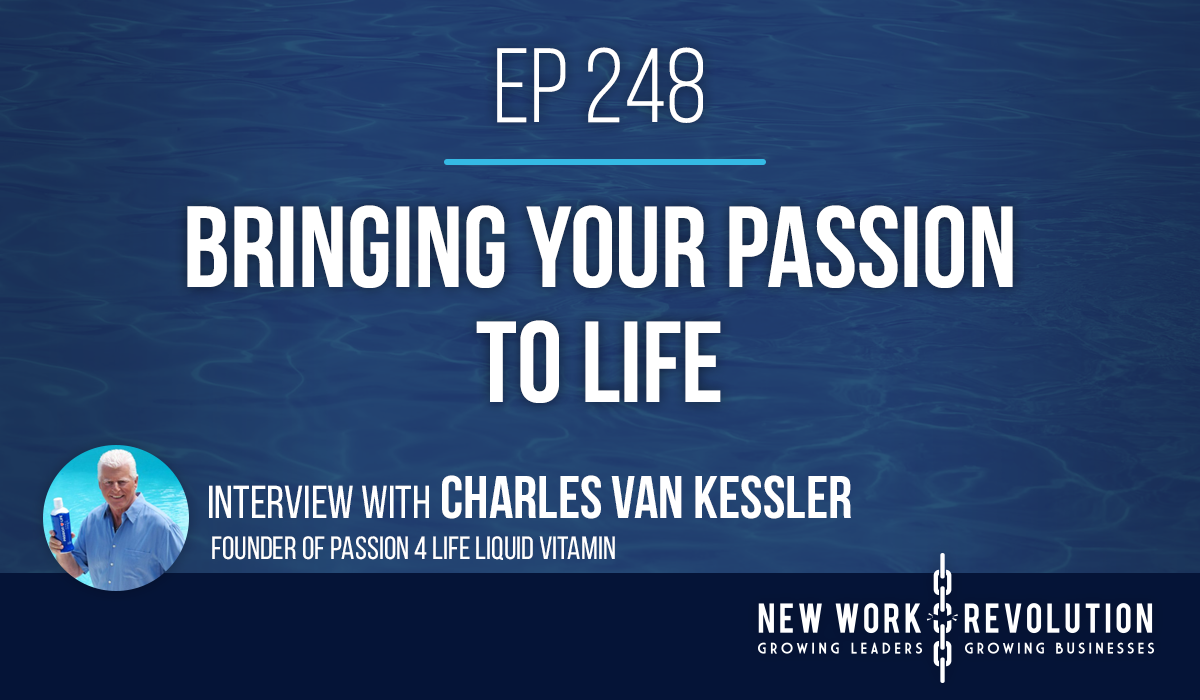 Podcast interview with Charles Van Kessler